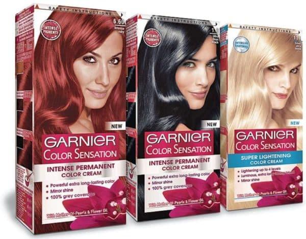 Краска для волос Гарньер Color Sensation