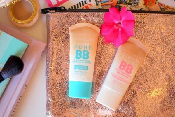 Два вида ББ крема от Мейбеллин