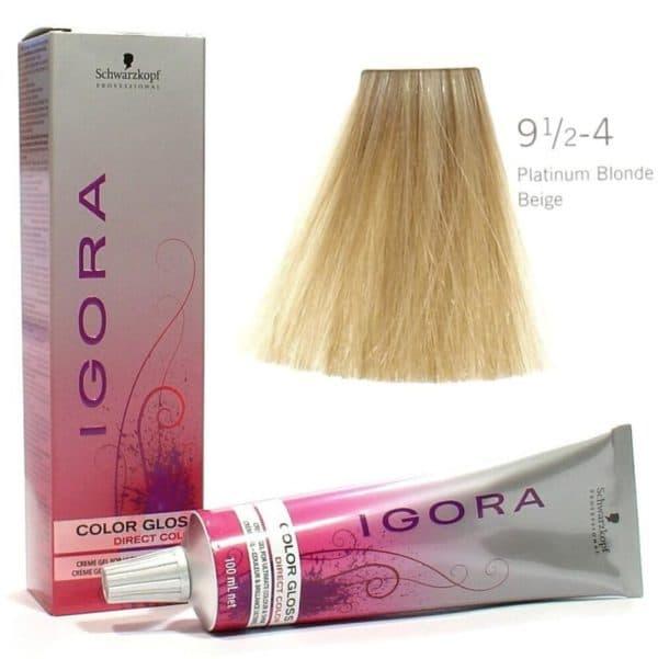 Временная краса для волос платиновый блондин