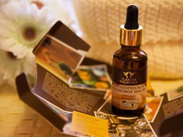 Качественное аргановое масло для волос