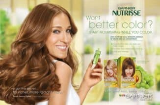 Натуральные оттенки краски для волос Гарньер