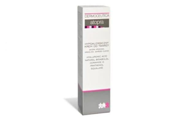 Аптечный гипоаллергенный крем для лица Атопра