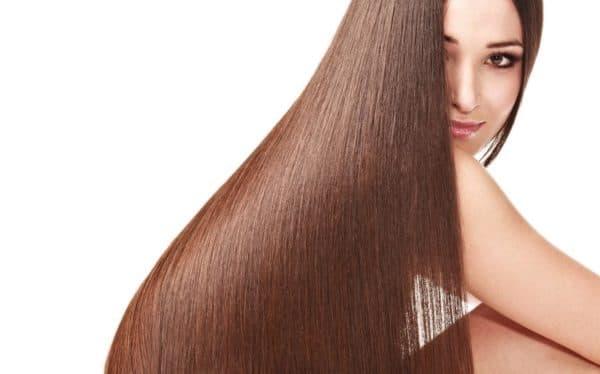 Гладкие волосы после кератинового выпрямления