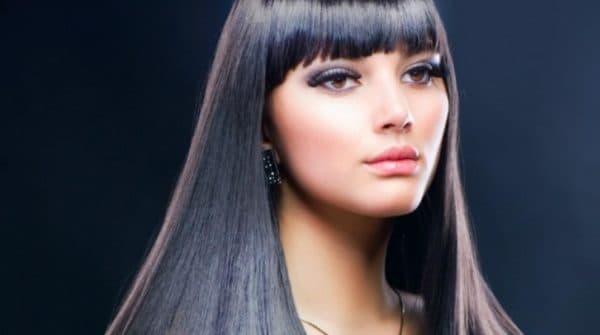 Красивые волосы после процедуры кератинового выпрямления