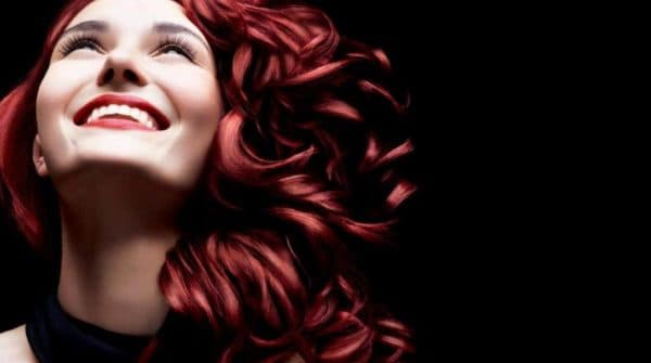 Рубиновая краска для волос Гарньер