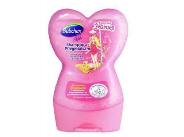 Детский шампунь Бюбхен для девочек