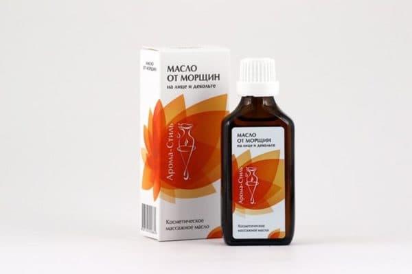 Косметическое масло от морщин