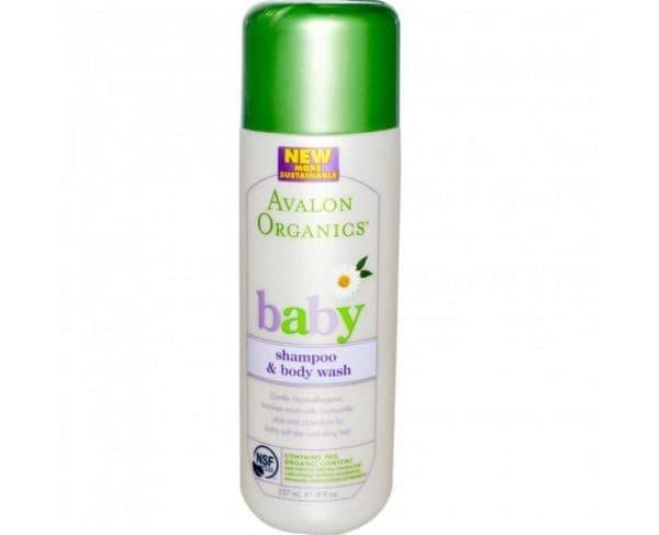 Деский шампунь без лаурил сульфата Avalon Organics