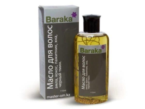 Масло для волос Baraka