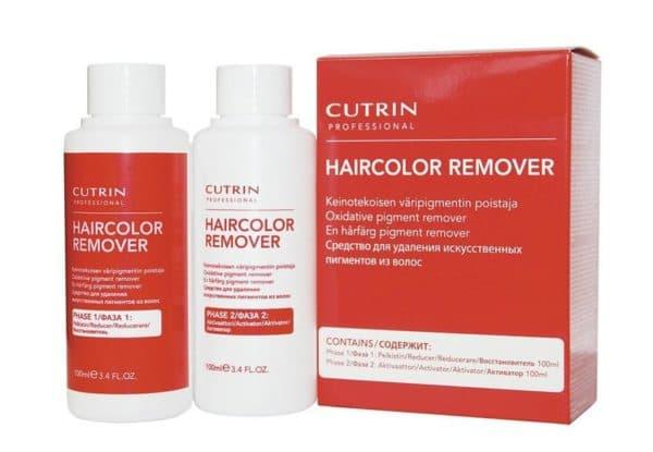 Профессиональная смывка для краски для волос