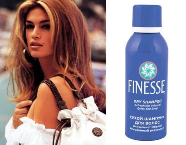 Сухой шампунь для волос Finesse