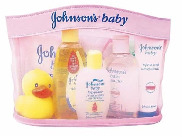 Средства для купания новорожденного