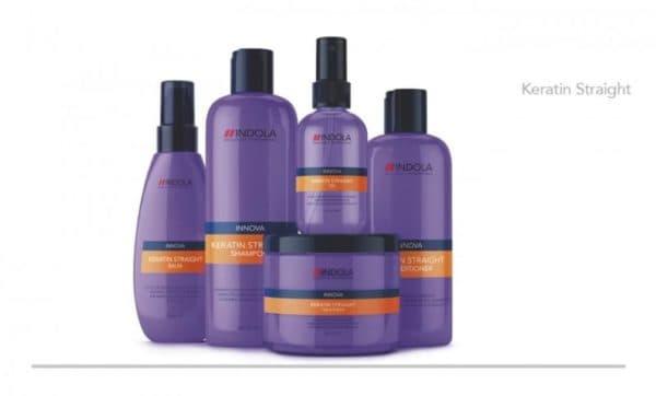 Средства для кератинирования волос ndola Keratin Straight
