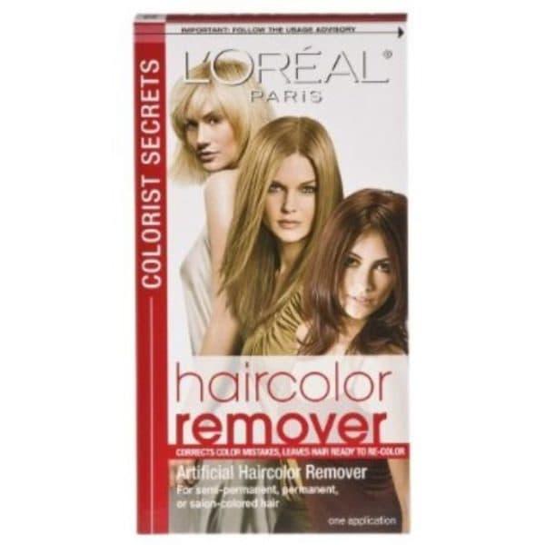 Ремувер для краски для волос Лореаль