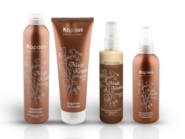 Кондиционер для восстановления волос Magic Keratin от Kapous