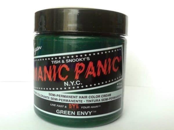 Manic Panic зеленая краска для волос