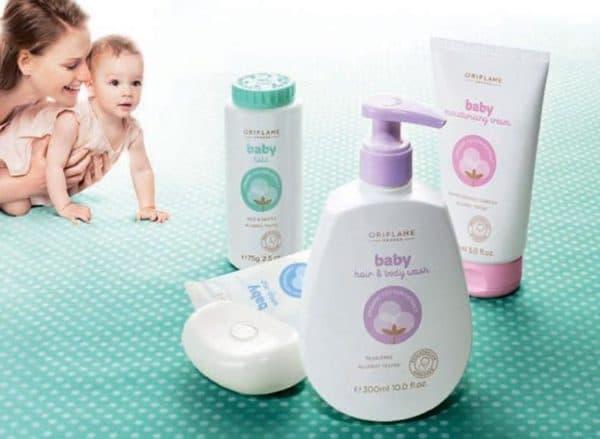 Детская косметика для новорожденных