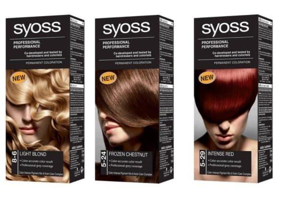 Профессиональная краска для волос SYOSS