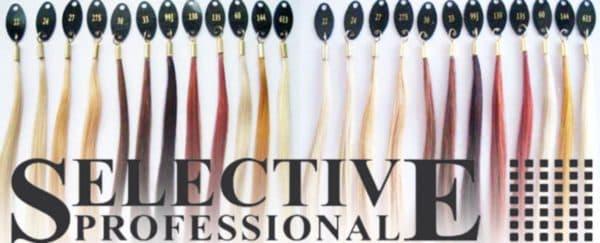 Оттенки краски для волос Selektive Professional