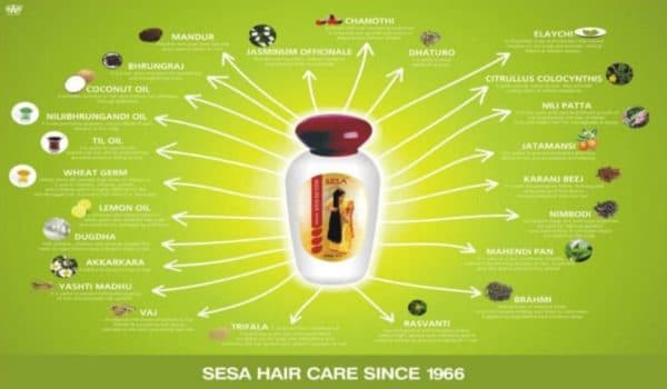 Индийское масло для волос Sesa