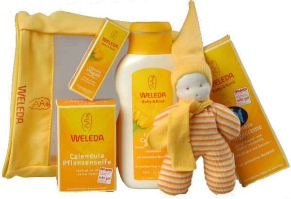 Косметика для новорожденных Weleda