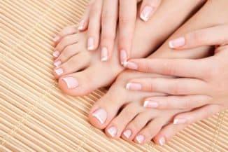 Здоровые ногти после шеллака