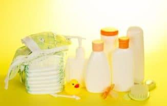 Детская косметика для ухода за новорожденным
