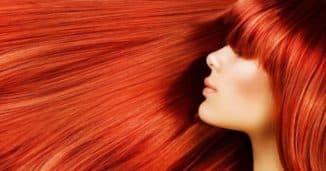 Оттеночный шампунь рыжего цвета
