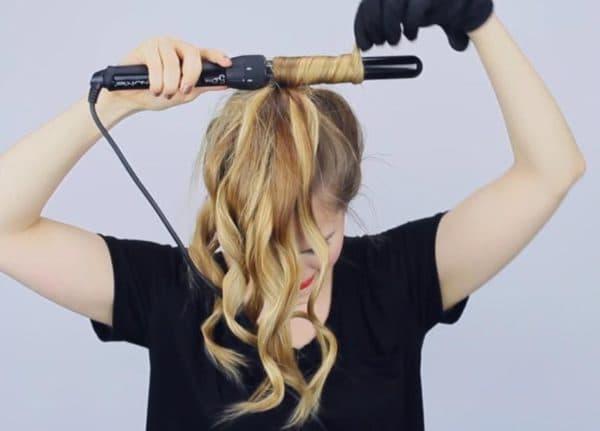 Как накрутить волосы стандартной плойкой