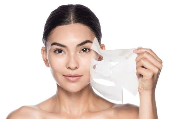 Как снять альгинатную маску для лица