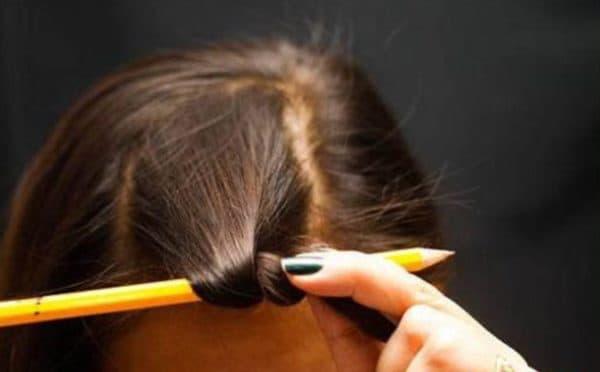 Как использовать карандаш для завивки