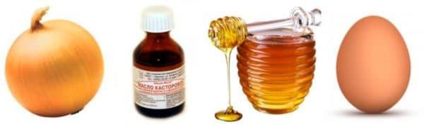 Маска для увлажнения волос с касторовым маслом