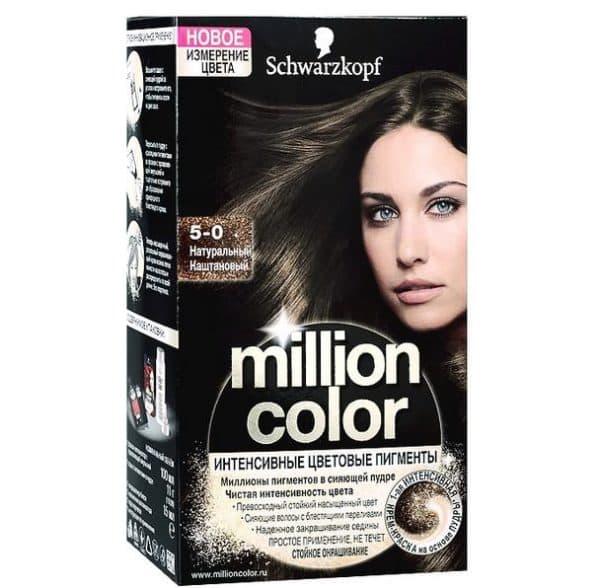 Краска для волос Million color Schwarzkopf