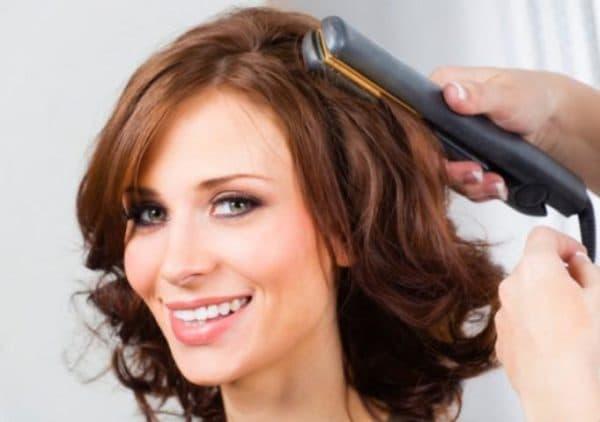 Как завивать короткие волосы на утюжок