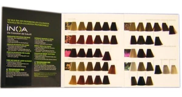 Палитра Иноа Лореаль краска для волос