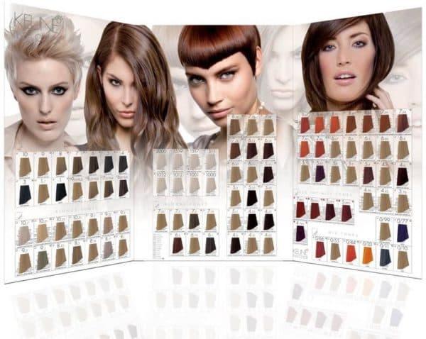 Палитра краски для волос Кене Тинта Колор