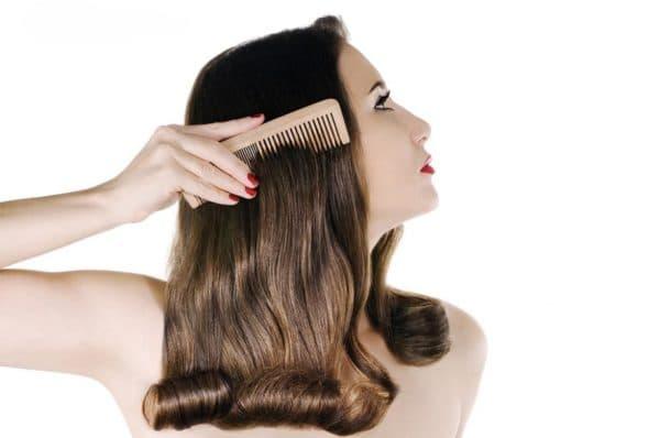 Результат от использовани кондиционера для волос