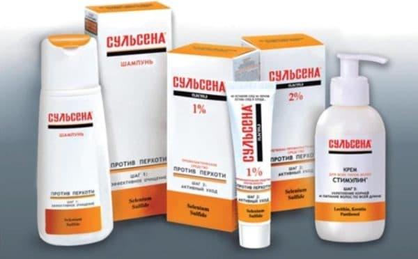 Сульсена лечебные средства для кожи головы