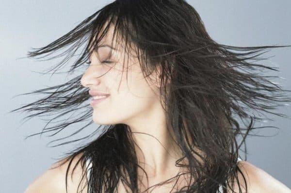 Вымытые волосы