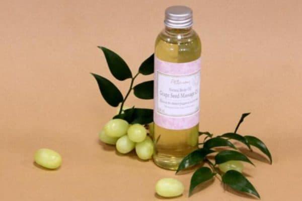 Масло из виноградной косточки для лица