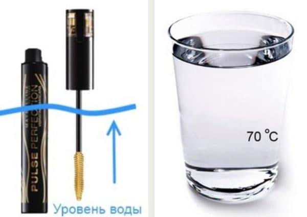 Как разбавить тушь водой