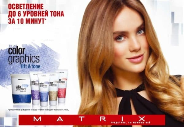 Краски Матрикс для мелирования волос