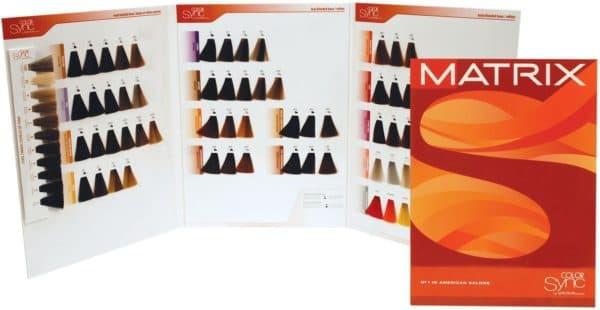 Палитра краски для волос Матрикс color Sync
