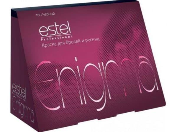 Enigma краска для бровей и ресниц