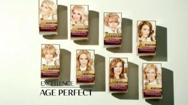 Палитра краски для волос Excellence Age Perfect