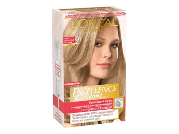 Упаковка краски для волос Excellence Creme