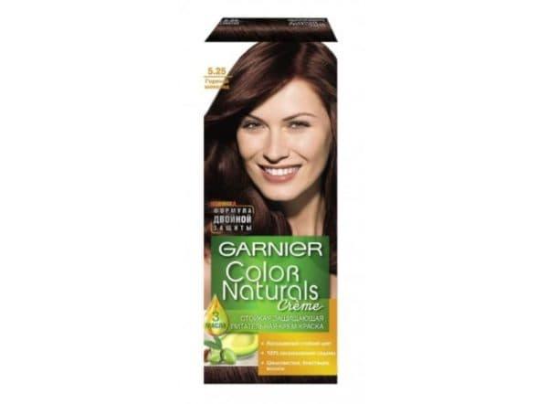 Коричневый оттенок краски для волос Гарньер Натуралс