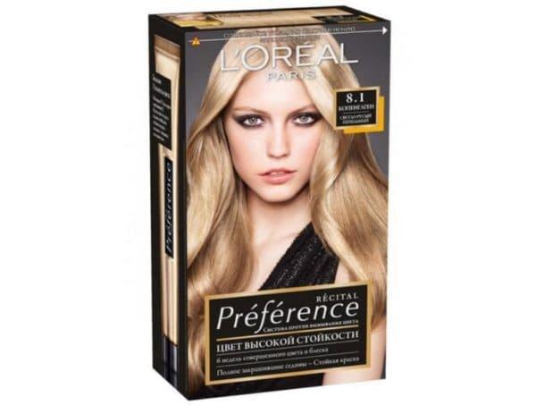 Краска для волос Preference 8.1