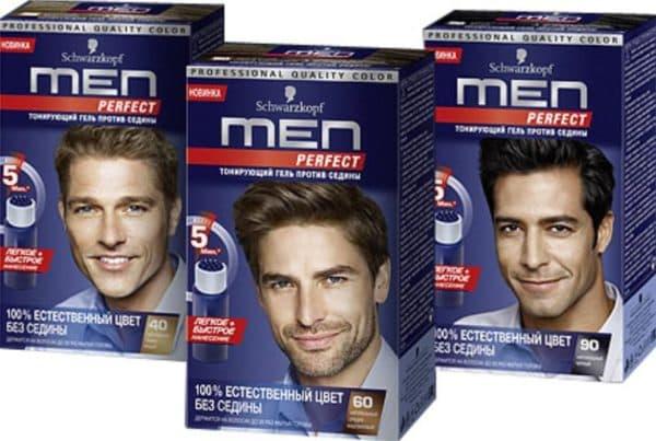 Мужская краска для волос Schwarzkopf Men Perfect
