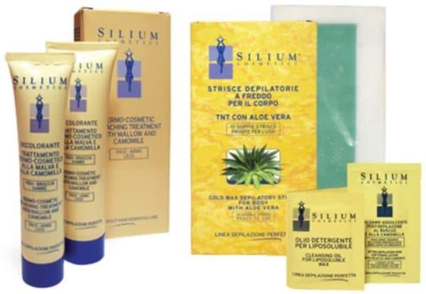 Крем для удаления волос на лице Silium